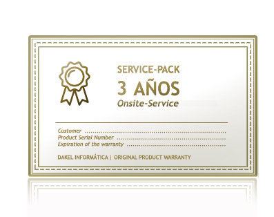 Service-Pack Servidores Dakel